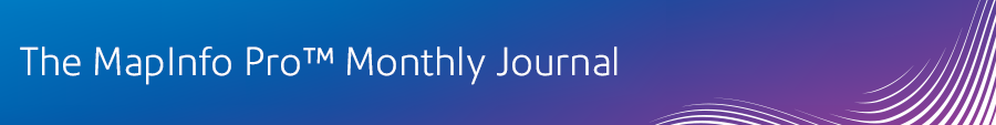 The MapInfor Pro Monthly Journal