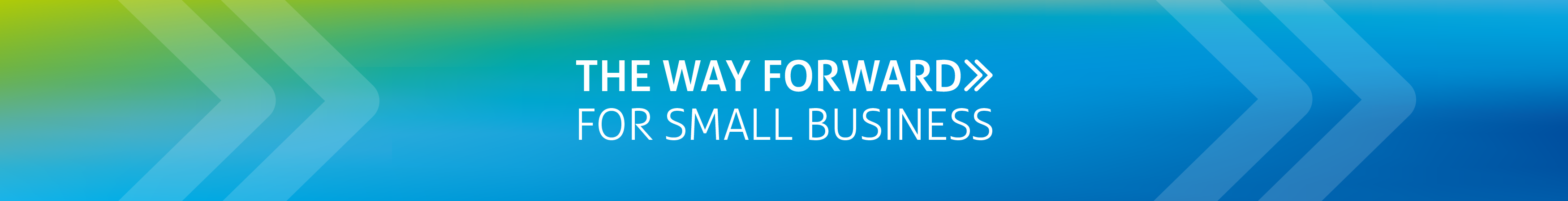 The Way Forward Newsletter